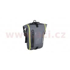 tankbag na motocykl Aqua M8, OXFORD (černý/šedý/žlutý fluo, s magnetickou základnou, objem 8 l)