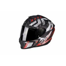 Moto přilba SCORPION EXO-1400 AIR PICTA matná černo/neonově červená