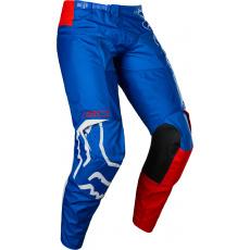 Pánské MX kalhoty Fox 180 Skew Pant White/Red/Blue