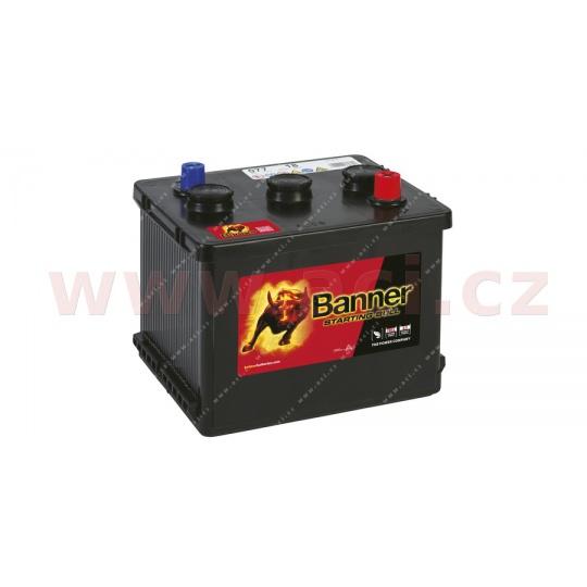 77Ah baterie, 6V, 450A, pravá BANNER Starting Bull 216x170x166(191)