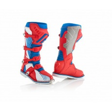 ACERBIS motokros boty X-PRO V.modrá/červená