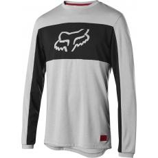 Pánský dres Fox Ranger DR Foxhead LS Jersey Grey
