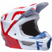 Pánská přilba Fox V1 Skew Helmet, Ece White/Red/Blue