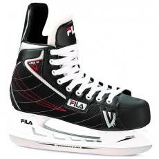 hokejové brusle FILA SKATES Pánské hokejové brusle FILA SKATES-VIPER HC BLACK / RED