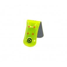 KELLYS Reflexní LED spona TWINKLE PRO 3M Scotchlite