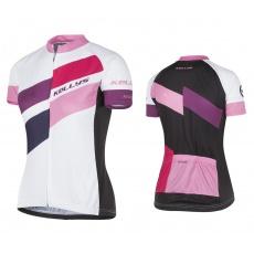 KELLYS Dres MADDIE krátký rukáv ružový - XL