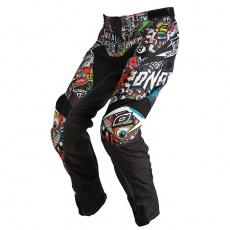 Kalhoty O´Neal Mayhem CRANK černá/multi