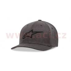 kšiltovka AGELESS CURVE HAT, ALPINESTARS, dětská (šedá/černá)