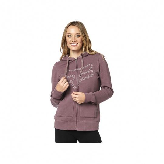 Dámská mikina Fox Barstow Zip Fleece Purple