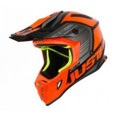 Moto přilba JUST1 J38 BLADE oranžovo/černá