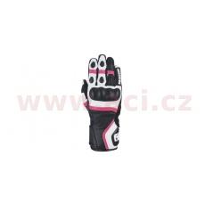 rukavice RP-5 2.0, OXFORD, dámské (bílá/černá/růžová)