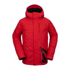 Pánská bunda Volcom 17Forty Ins Jacket Red