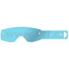 strhávací slídy plexi pro brýle SCOTT řady HUSTLE/TYRANT, Q-TECH (50 vrstev v balení, čiré)