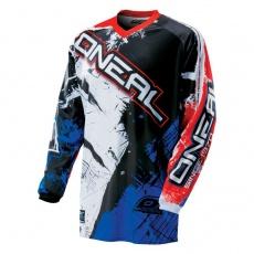 Element dres SHOCKER černá/červená/modrá