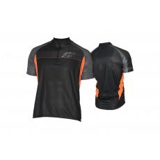 KELLYS Dres PRO Sport krátký rukáv orange - XS
