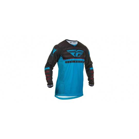 dres Kinetic K120 2020, FLY RACING (modrá/černá/červená)