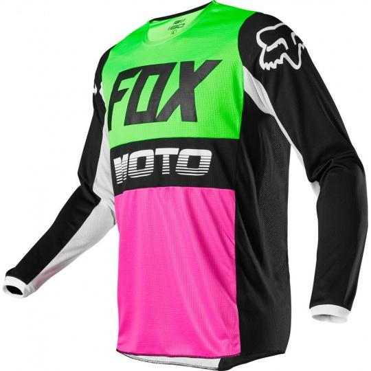 Pánský MX dres Fox 180 Fyce Jersey Multi