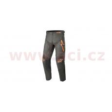 kalhoty RACER COMPASS 2021, ALPINESTARS, dětské (černá antracit/oranžová fluo)