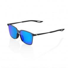 Legere Square - Soft Tact Black - Blue Multilayer Mirror Lens