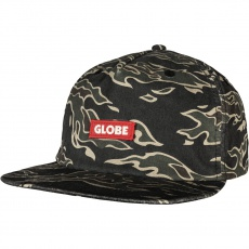 Pánská čepice Globe Bar Cap Tiger camo