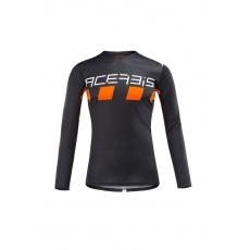 ACERBIS dres MX CHECKMATEčerná/oranž