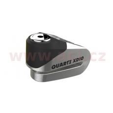 zámek kotoučové brzdy Quartz XD10, OXFORD (broušený kov, průměr čepu 10 mm)