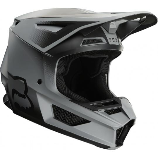 Pánská MX helma FOX V2 Vlar Helmet Matte Black 2020