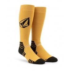 Pánské ponožky Volcom Synth Sock Resin Gold