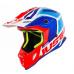 Moto přilba JUST1 J38 BLADE modro/červeno/bílá
