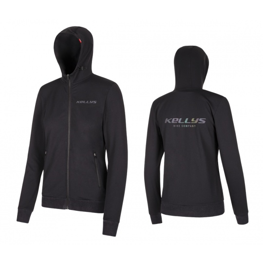 KELLYS Mikina WOMEN´S CHROMATIC Black - S