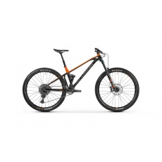 Horské kolo MONDRAKER Foxy 29, black/orange/grey, 2021