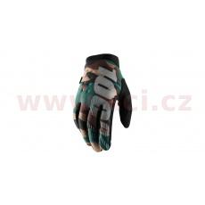 rukavice BRISKER, 100% (camo/černá)