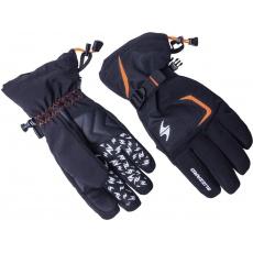 lyžařské rukavice BLIZZARD Reflex, black/orange