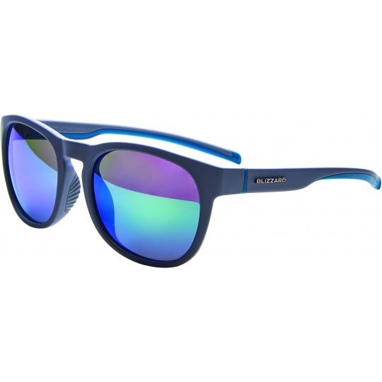sluneční brýle BLIZZARD sun glasses POLSF706120, rubber cool grey, 60-14-133