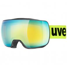 lyžařské brýle UVEX  COMPACT FM, black mat dl/orange (2330)