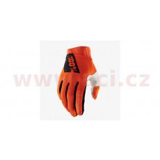 rukavice RIDEFIT, 100% - USA (oranžová)