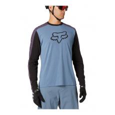 Pánský dres Fox Ranger Dr Ls Jersey Matte Blue