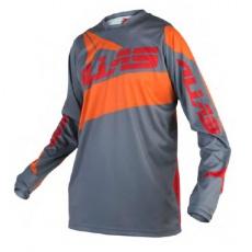 Motokrosový dres ALIAS MX A2 burnt oranžovo/červený 2160-299
