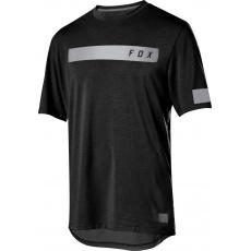 Pánský dres Fox Ranger Dri-Release Ss Bar Jrsy Black