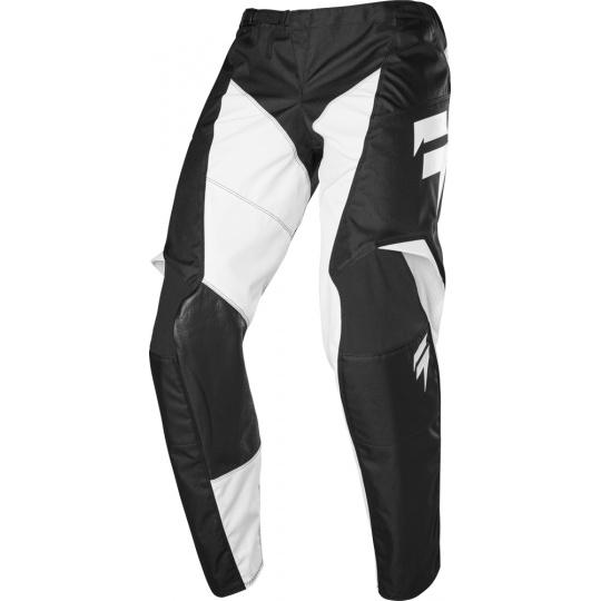 MX kalhoty SHIFT WHIT3 LABEL RACE PANT Black/White