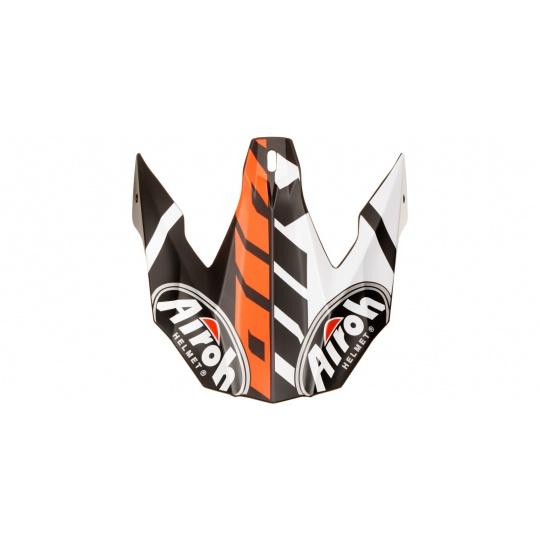 náhradní kšilt pro přilby TWIST GREAT, AIROH - Itálie (oranžová mat)