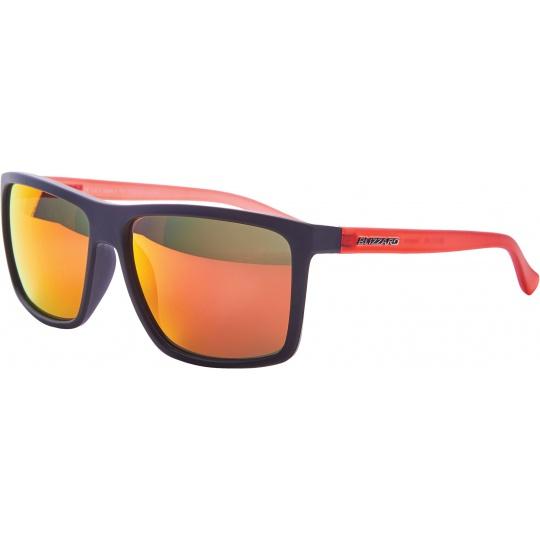 sluneční brýle BLIZZARD sun glasses PCSC801192, rubber black, 65-17-140