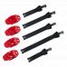 Náhradní pásky + přezky O´Neal pro boty RIDER PRO červená/černá