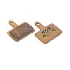 KELLYS Brzdové destičky KLS D-04S, sintrované (pár) *
