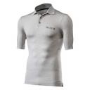 SIXS Polo funkční tričko s límečkem šedá