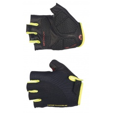 Pánské rukavice Northwave Extreme Short Gloves Black/Yellow Fluo