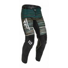 kalhoty KINETIC WAWE, FLY RACING - USA 2022 (černá/zelená)