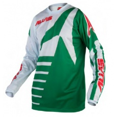 Motokrosový dres ALIAS MX A2 divide green/stone 2161-349