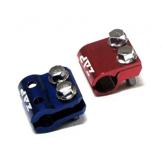 držák brzdové hadice KX(F)/RM(Z) 05.... červený