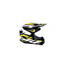 přilba Cross Cup Two, CASSIDA (bílá/žlutá fluo/černá/šedá)